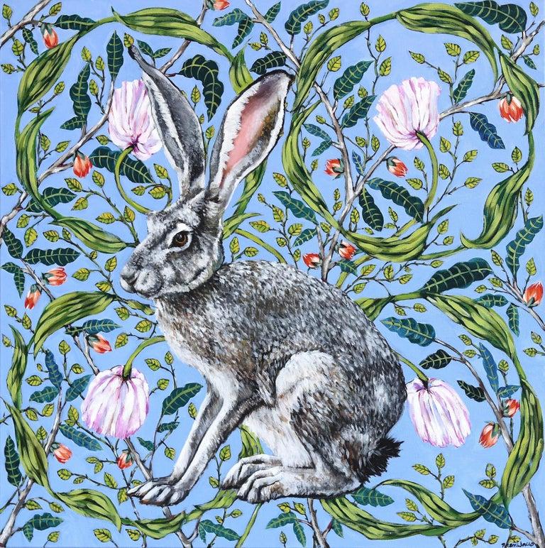 Naomi Jones Animal Painting - Jack Rabbit