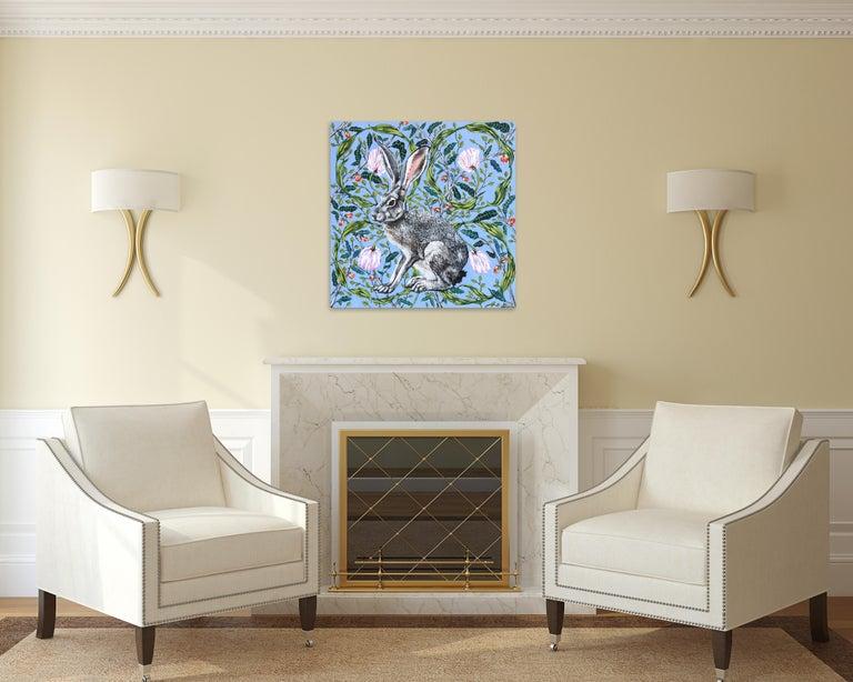 Jack Rabbit - Painting by Naomi Jones