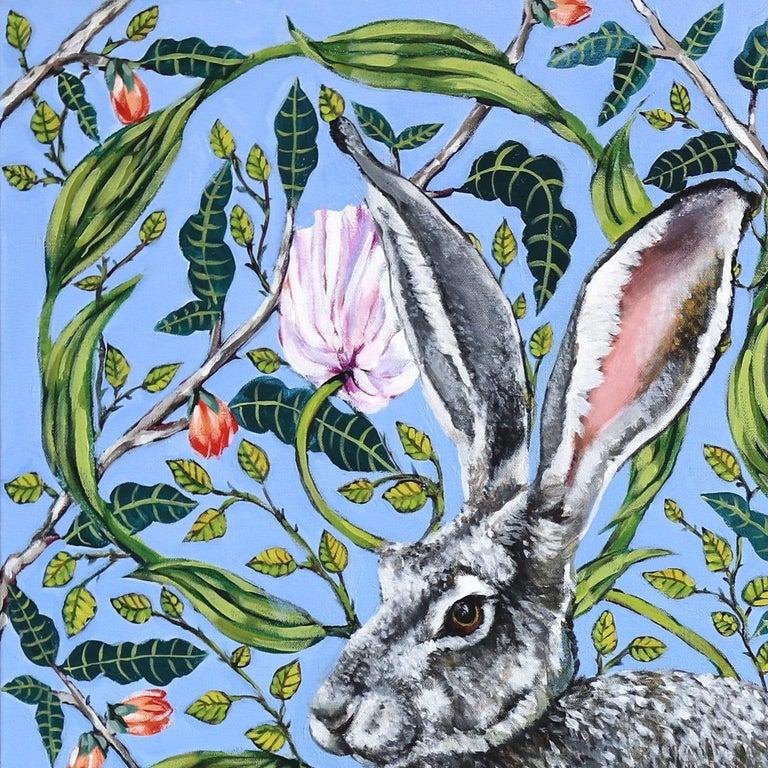 Jack Rabbit - Other Art Style Painting by Naomi Jones