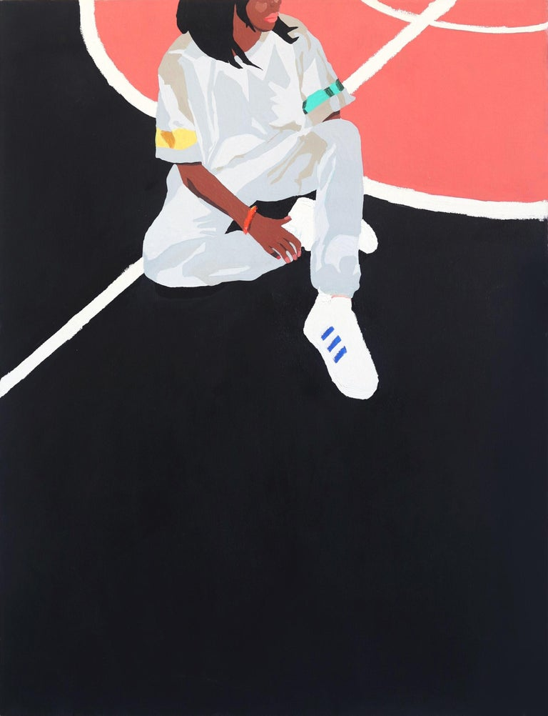 Danny Brown Figurative Painting - A.D.I.D.A.S.