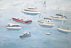 Berry's Bay (20.11.18) - Original Oil Painting
