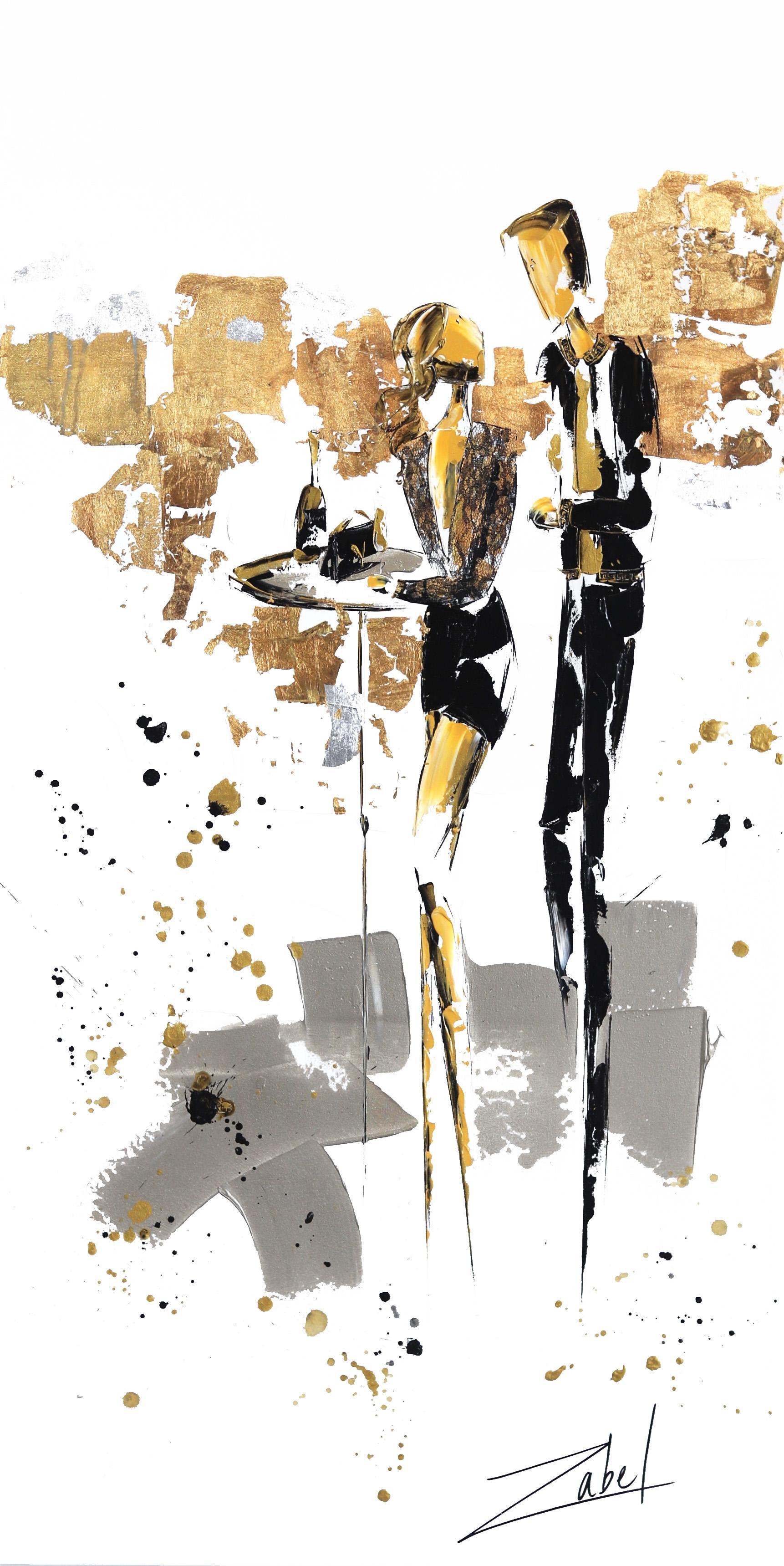Champagne et Versace