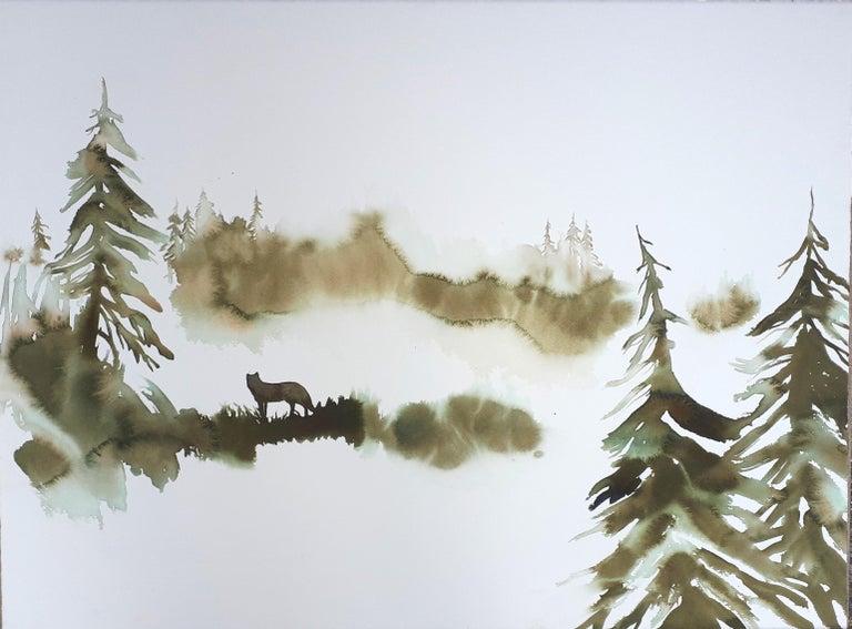 Nicola Magrin Animal Art - Wolf #34