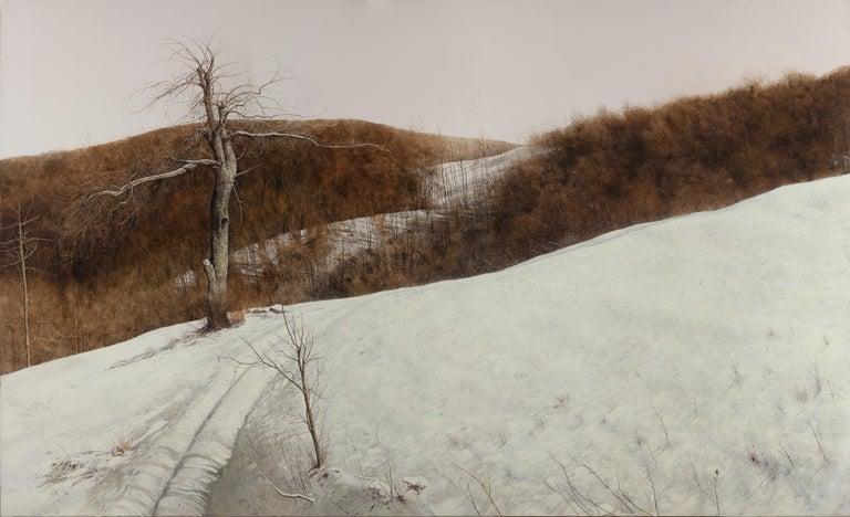 Laura Zuccheri Landscape Art - Winter afternoon light