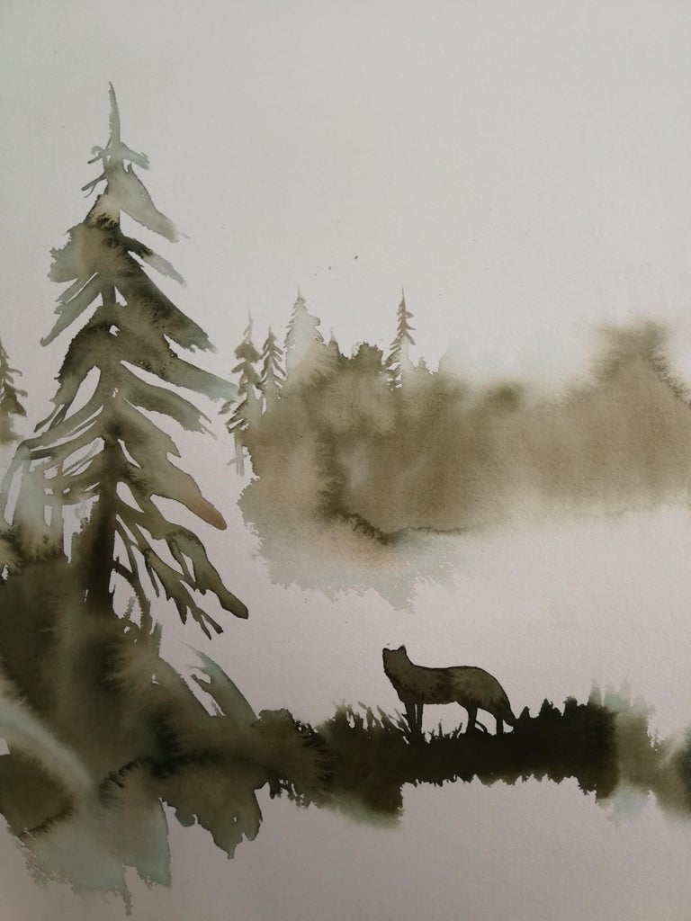 Wolf #34 - Art by Nicola Magrin