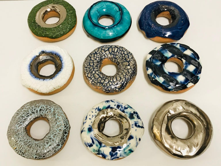Unique, Hand Made, Porcelain and glaze. Wall installation possible. Stepanka Summer is a porcelain artist who blends art, design, and personal imageries from her childhood, inviting the viewer to take a deeper look at familiar encounters as she