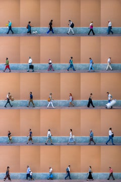 Xan Padron, Photography people walking in Athens, Greece. Cityscape.