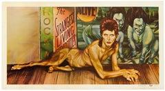 Original Vintage Poster David Bowie Diamond Dogs Iconic Rock Music Album Design