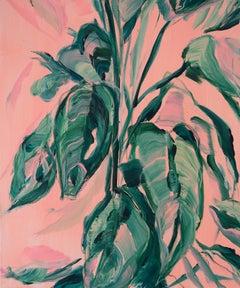 Grace Original Acrylic paint oil pastel Signed RA Summer exhibition 2019
