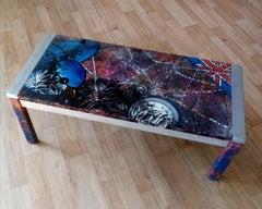 Bird Table art on furniture