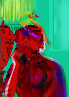 Phone Call  limited edition print pre-release expo Soho House and LFW19