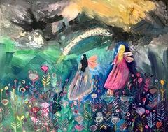 Dream A Rainbow a4 print high gloss signed  vibrant colour