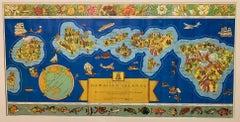 The Dole Map of the Hawaiian Islands