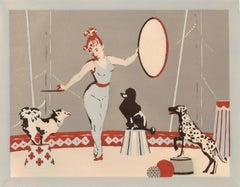 Dog Circus Print