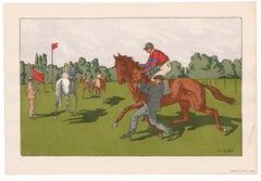 Equestrian Scene No. 5.