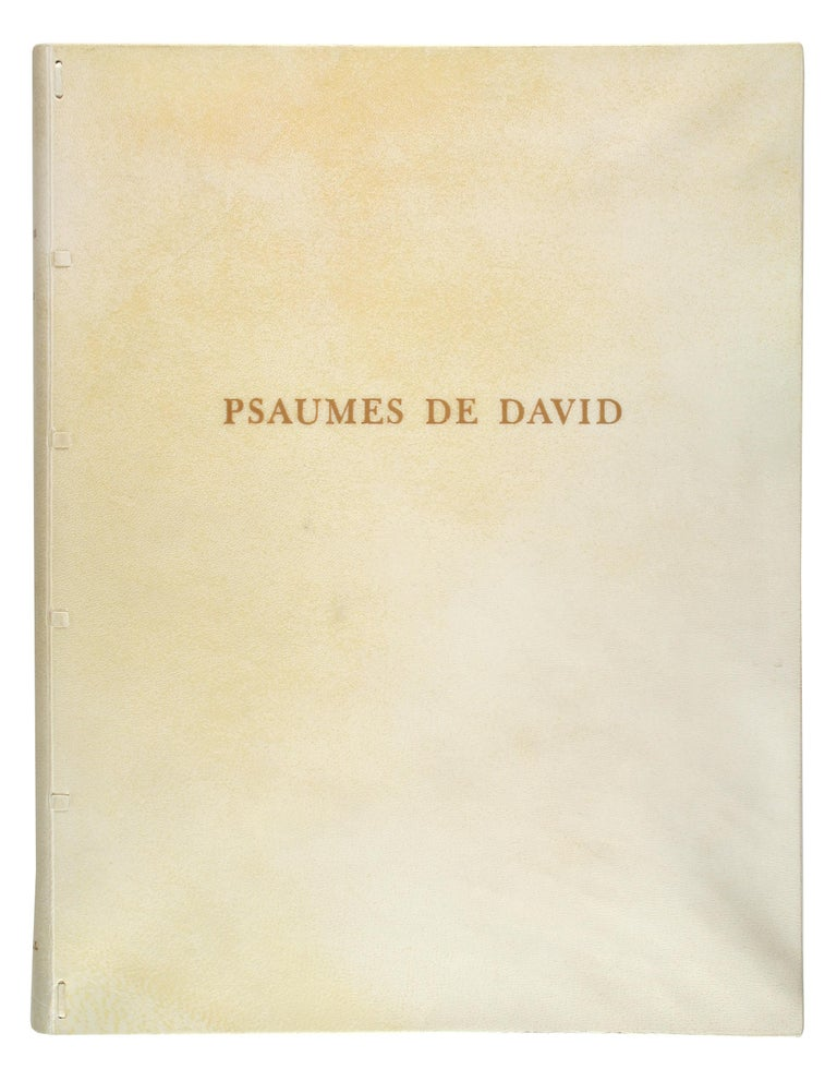 Psaumes de David with Original Drawing For Sale 2