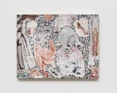 Verdure 5, 2018, Sarah Ann Weber, Watercolor, Color Pencil, Panel, Abstract