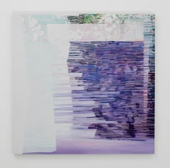 Purple Roleplay, 2018, Fabia Panjarian, Oil on linen, Abstract