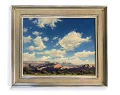Lee Valley Sky (Landscape, Colorado, Painting, Oil, Coors)