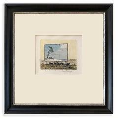 A Shore by the Sagebrush Sea TP (watercolor, beach, billboard, pasture)