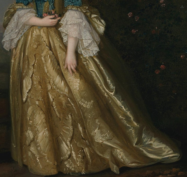 Portrait of a Lady in a landscape For Sale 1