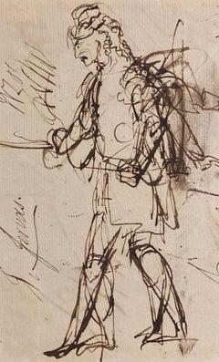 Portrait sketch - figurative study of a gentleman