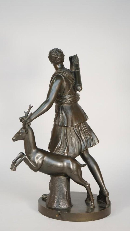 Diana the Huntress by Benedetto Boschetti For Sale 1