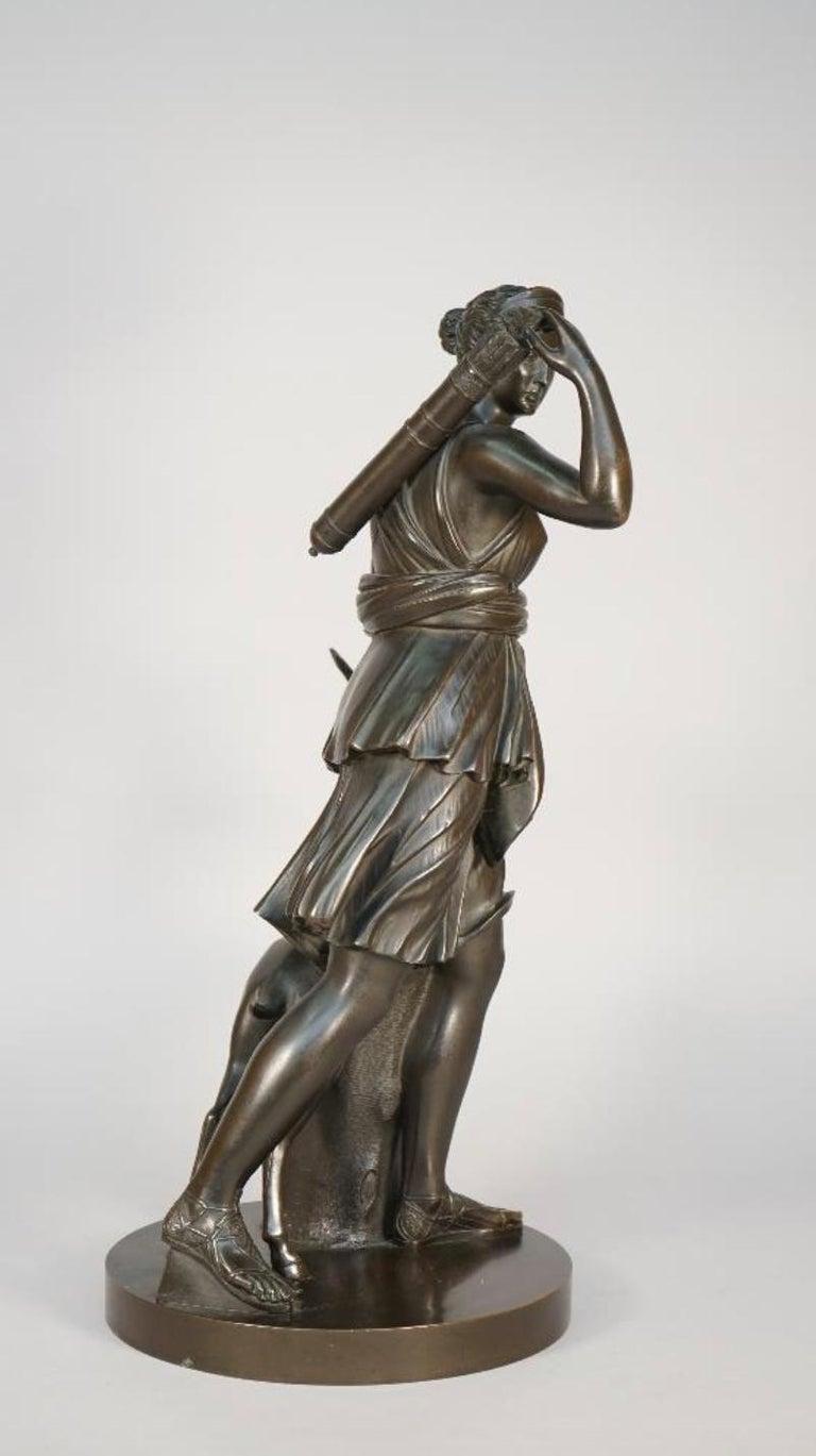 Diana the Huntress by Benedetto Boschetti For Sale 2
