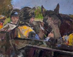After the race - Jockeys talking
