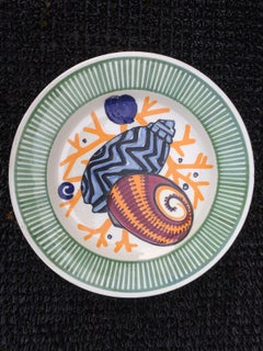 Mathurin Meheut, Plate Of The Sea Dinner Table, Ceramic