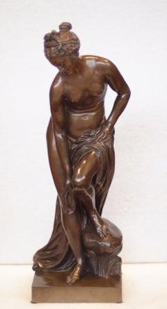 Bronze Bather (La Baigneuse), Founder Ferdinand Barbedienne, 19th Century