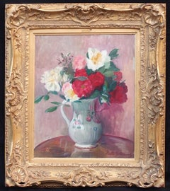 Bunch of Flowers, Painting Post-impressionist Circa 1930