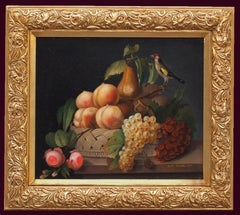 Still Life with Fruits and Bird 1867