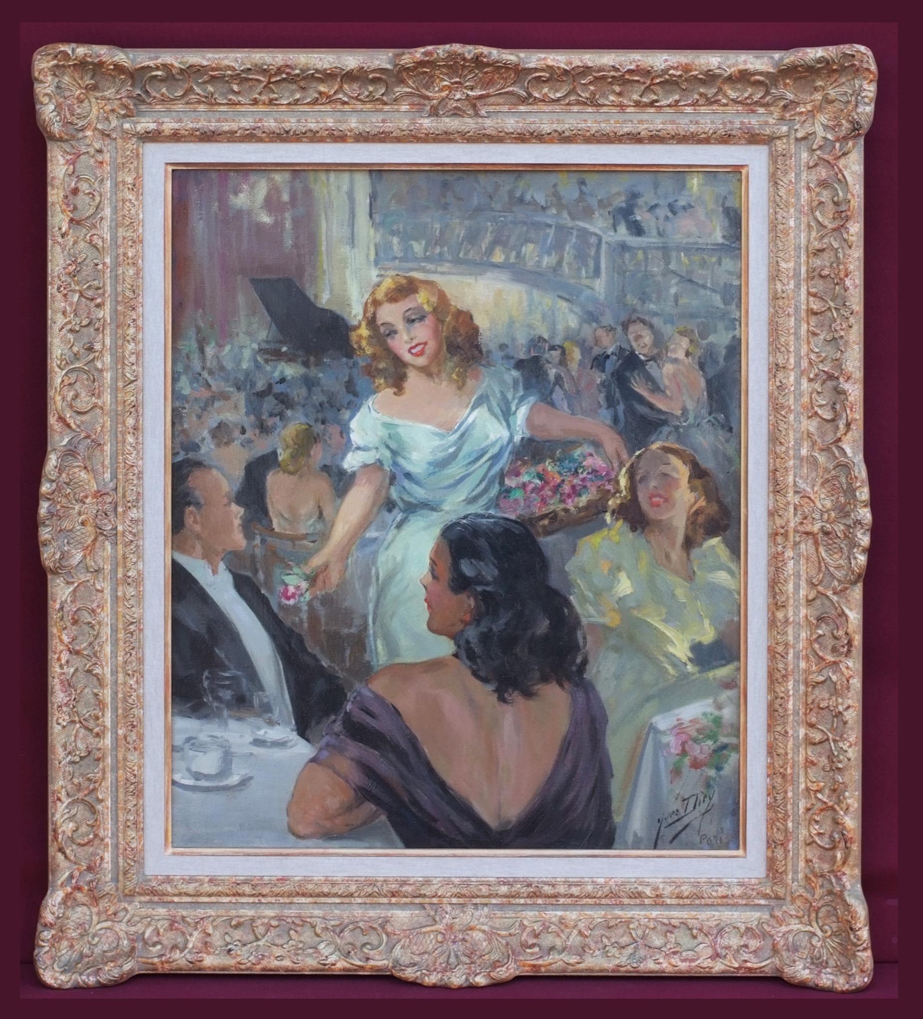 Flower Girl at the Paris Opera