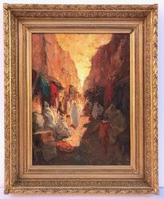 Orientalist painting postimpressionist