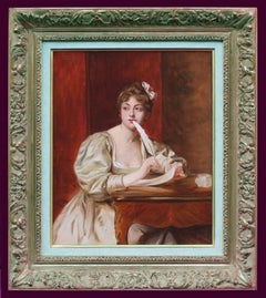 Young Lady at the Writing Desk