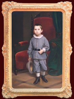Portrait of a boy 1865