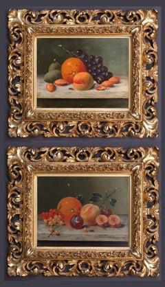Still-Life of Fruits in Pair