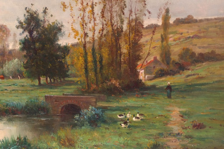 Landscape by the Pond  For Sale 1
