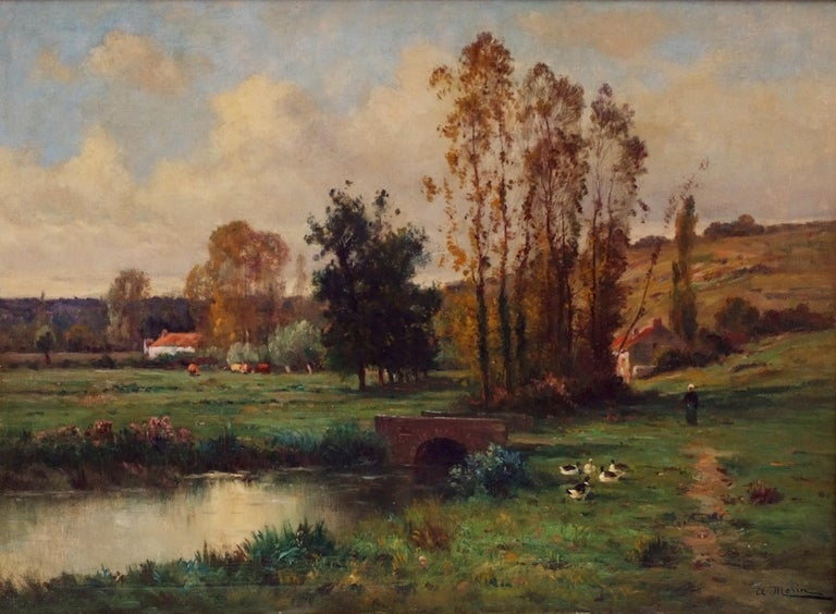 Landscape by the Pond  For Sale 3