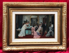 Reception at the Salon