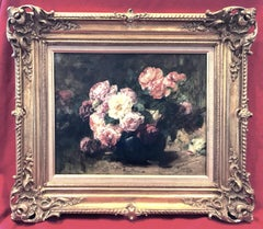 Still Life of Flowers - Original Painting 1904