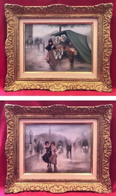 Ladies in The Paris Street - Belle Epoque Period