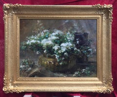 Bunch of Flowers - Original painting 19th Century