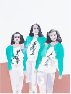 ' Identikit '  oil on canvas