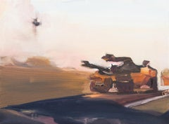 ' War Dust '  oil on canvas