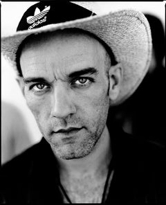 Portrait of Michael Stipe REM - signed Limited Edition Oversize print