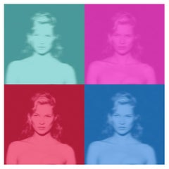 Kate IV - Oversize limited edition - Kate Moss Pop Art