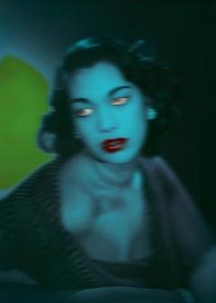 Blue Girl  - Oversize limited edition - Pop Art