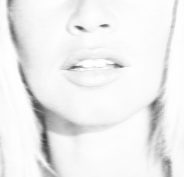 Unknown Black and White Photograph - Atomic Blonde - Oversize Signed limited edition - Pop Art - Brigitte Bardot